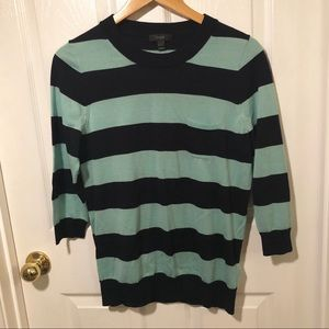 J. Crew Striped Tippi sweater